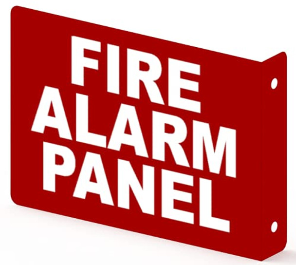 FIRE Alarm Panel Projection Sign-FIRE Alarm Panel Projection 3D Sign