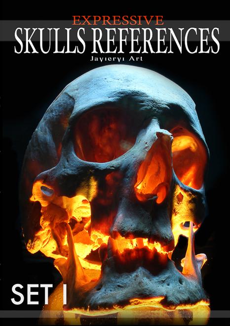 Javier Villar - 50 Skulls Set 1