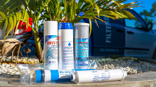 5 stage reverse osmosis filter replacement pac w/75gpd.
