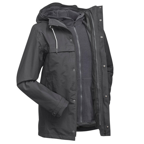 WATERPROOF TRAVEL JACKET BLUE