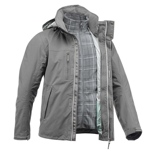 GREY MENS TREKKING JACKET