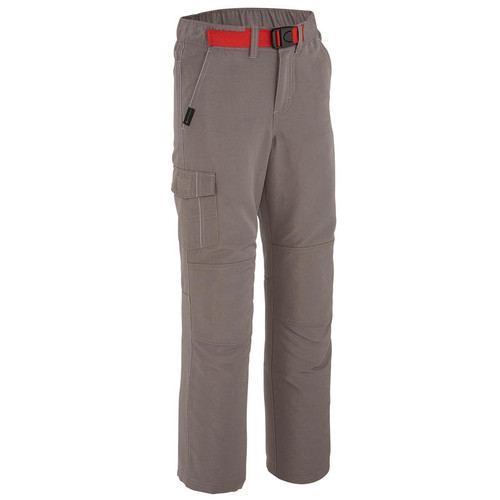 BOY'S HIKING TROUSERS GREY