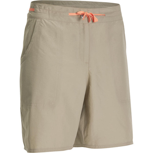 WOMEN'S HIKING SHORTS - BEIGE