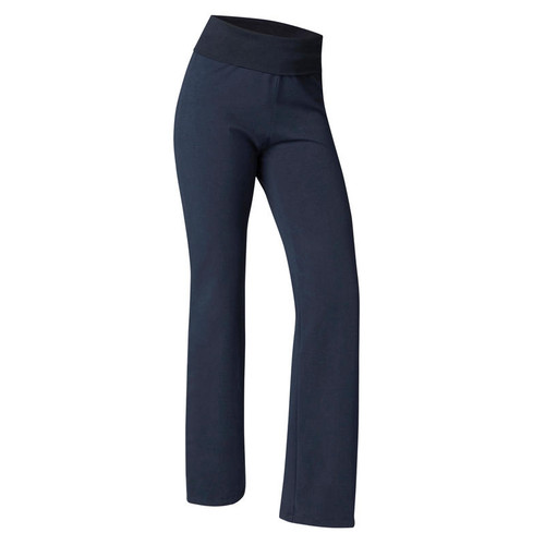 WOMEN'S YOGA BOTTOMS - NAVY BLUE