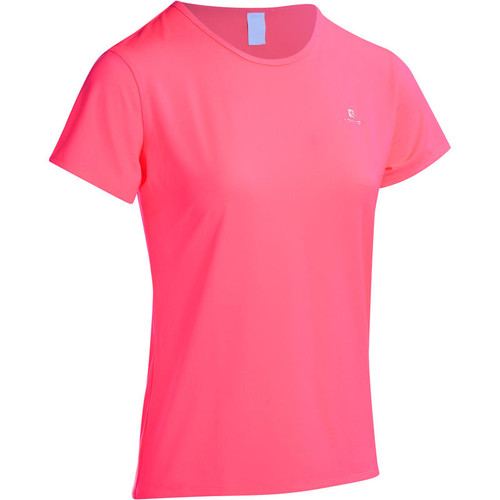 WOMEN'S TRAINING T-SHIRT - NEON PINK