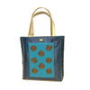 womens large Blue Tote        Womens large fashion Tote Brocade Blue