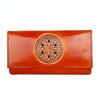 womens leather Mandala wallet