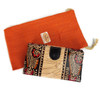handpainted wallets in leather