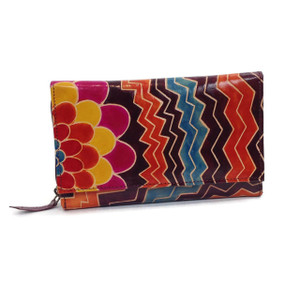 Stylish, functional and a riot of colors, the zip case wallet is a best seller.