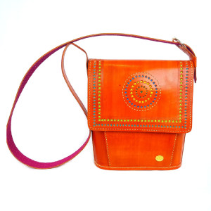 womens hand tooled leather tote