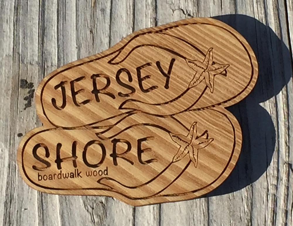 Jersey Shore Flip Flop Magnet