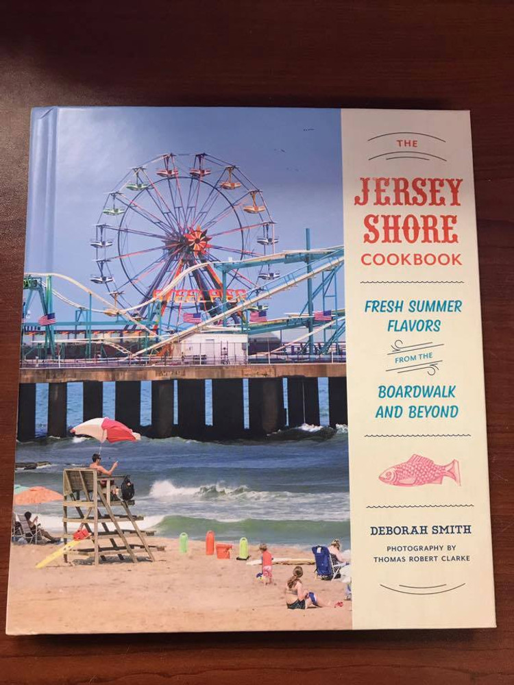 "The warm sand. The salt air. The boardwalk. The food!"" The Jersey Shore Cookbook features 50 recipes contributed by well-loved shore town restaurants, bakeries, markets, and more!! GET ALL your jersey cravings and beautiful/neat illustration!!!"