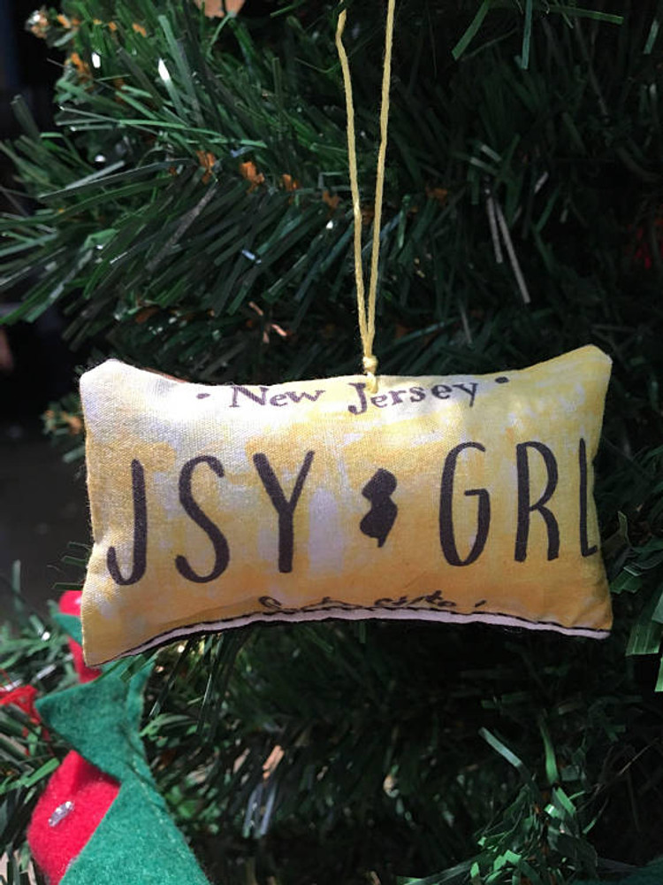 JSY GRL Plush Ornament (or rear view mirror!)