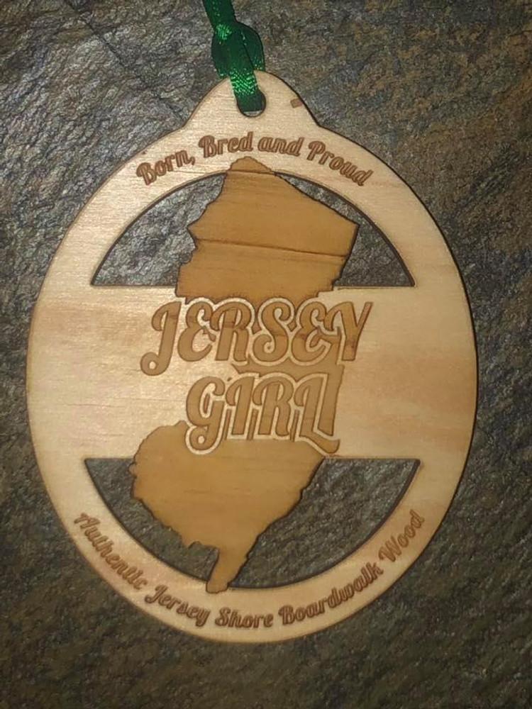 Jersey Girl Boardwalk Wood Ornamnet