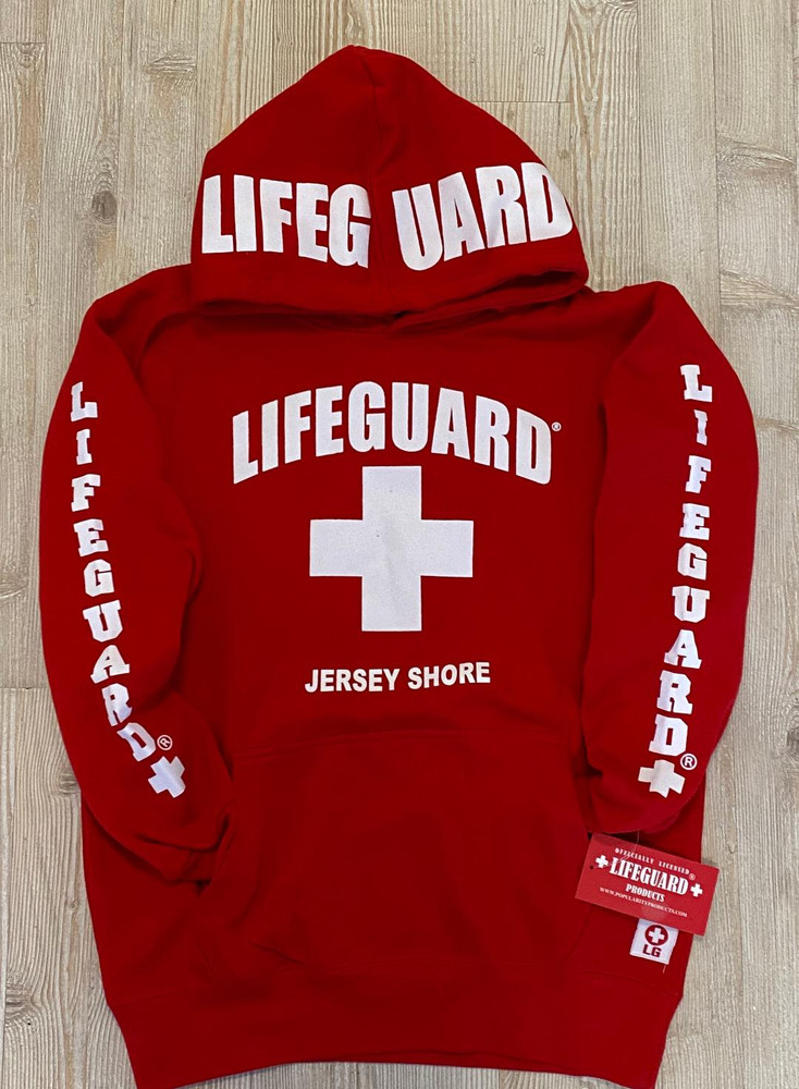 Jersey Shore Official Licensed Lifeguard® Hoodie for Men & Women.