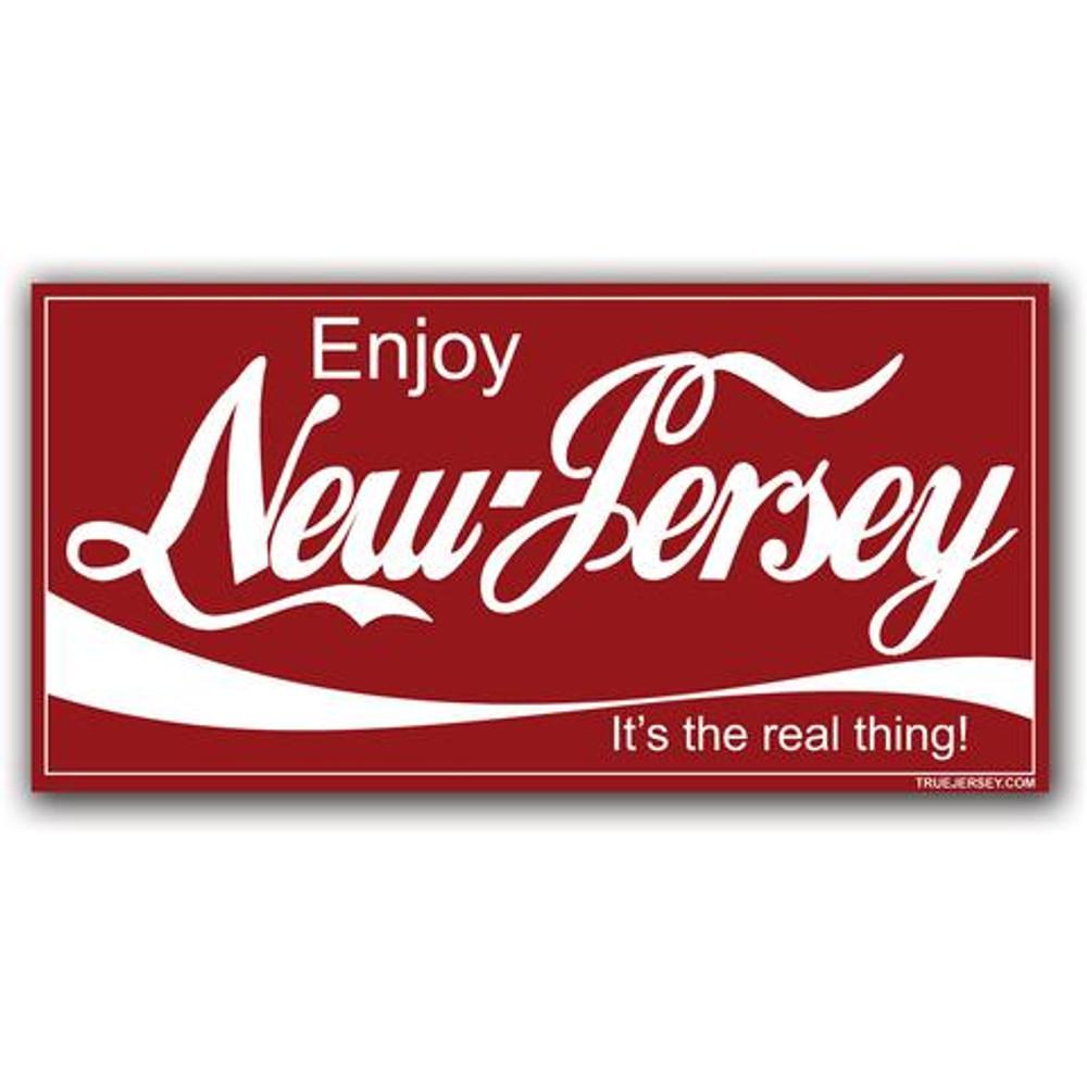 Enjoy NJ Sticker
