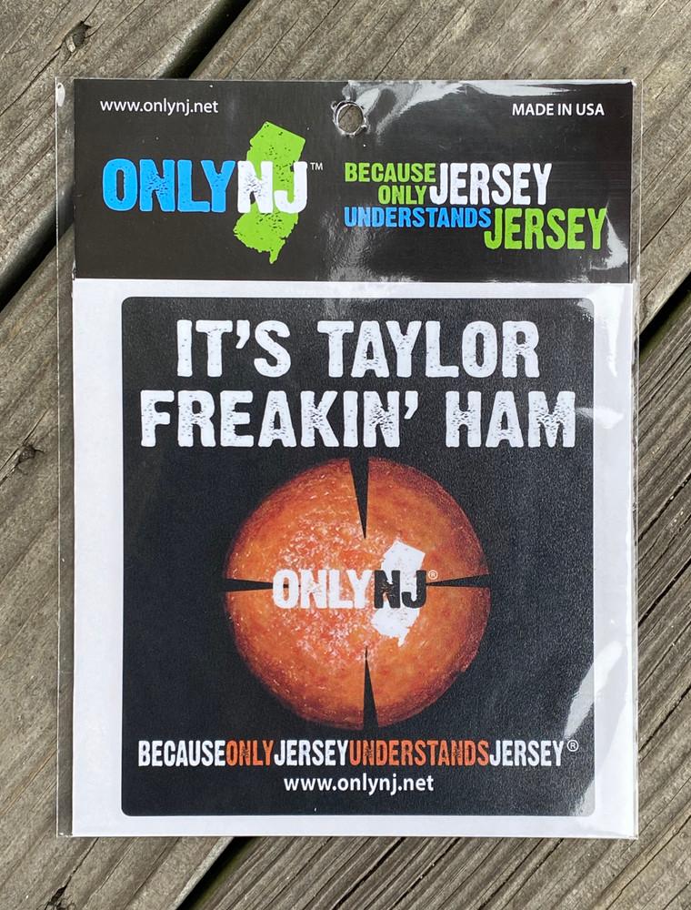 It's Taylor Freakin' Ham Auto sticker