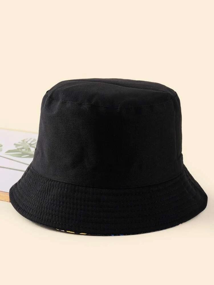 Pineapple Reversible Bucket Hat