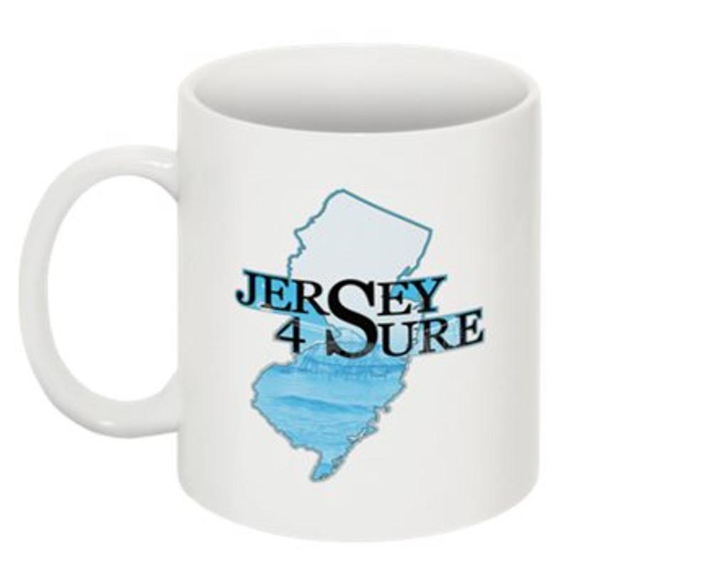 Jersey 4 Sure Blue Roller Coaster Mug