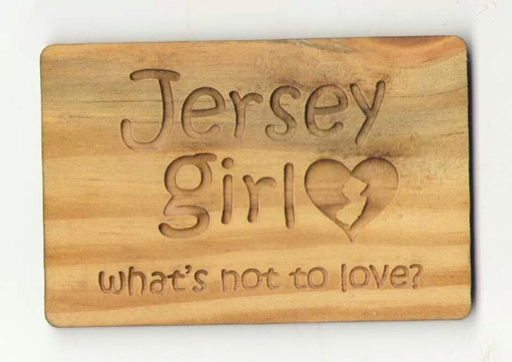 Jersey Girl Whats Not To Love Rectangle Magnet