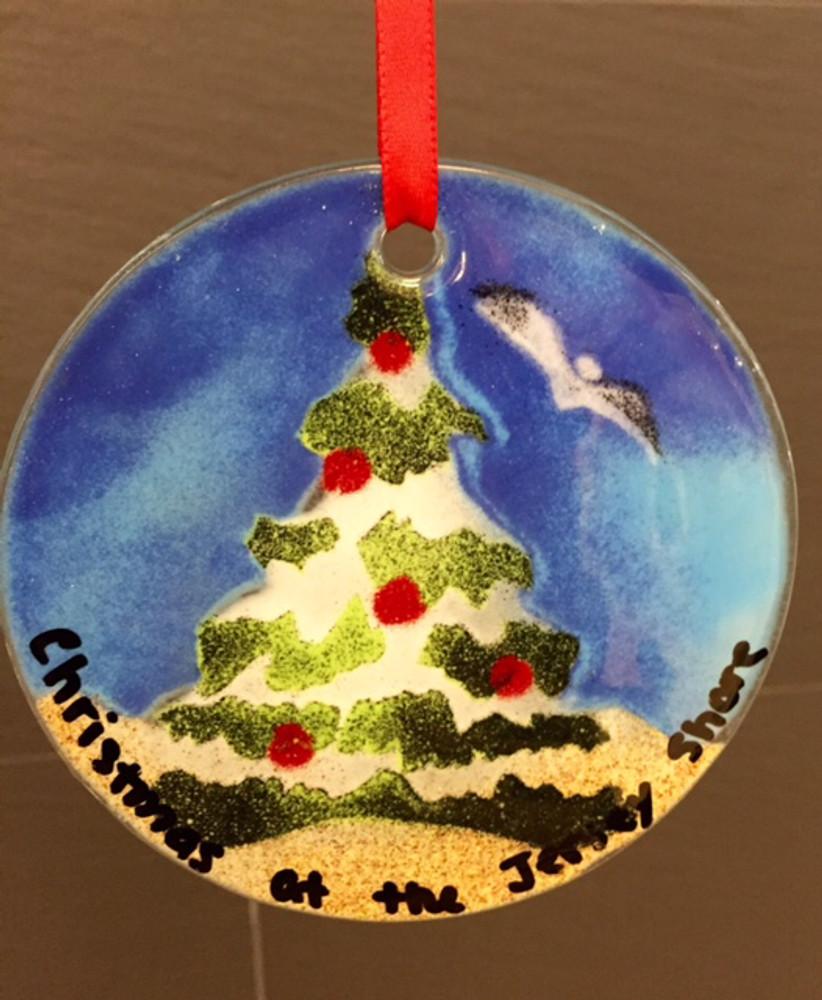 Christmas Tree Handmade Ornament/Sun Catcher