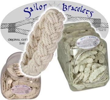 Handmade White Sailor Bracelets