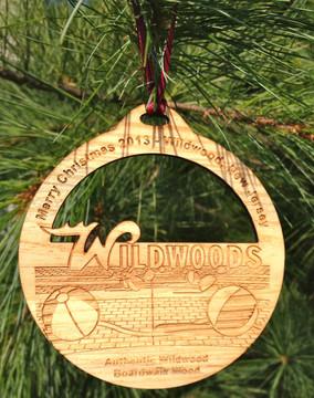 2013 Merry Christmas Wildwood Ornament