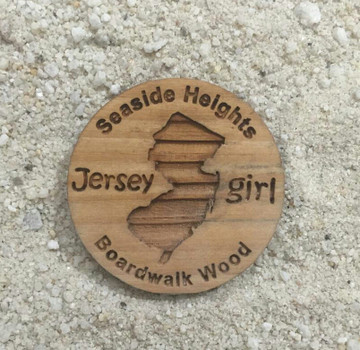 Jersey Girl Seaside Heights Boardwalk Magnet