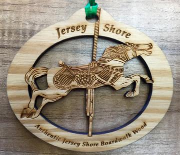 Jersey Shore Carousel Ornament
