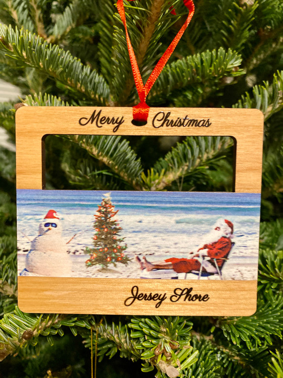 Jersey Shore Christmas Ornament
