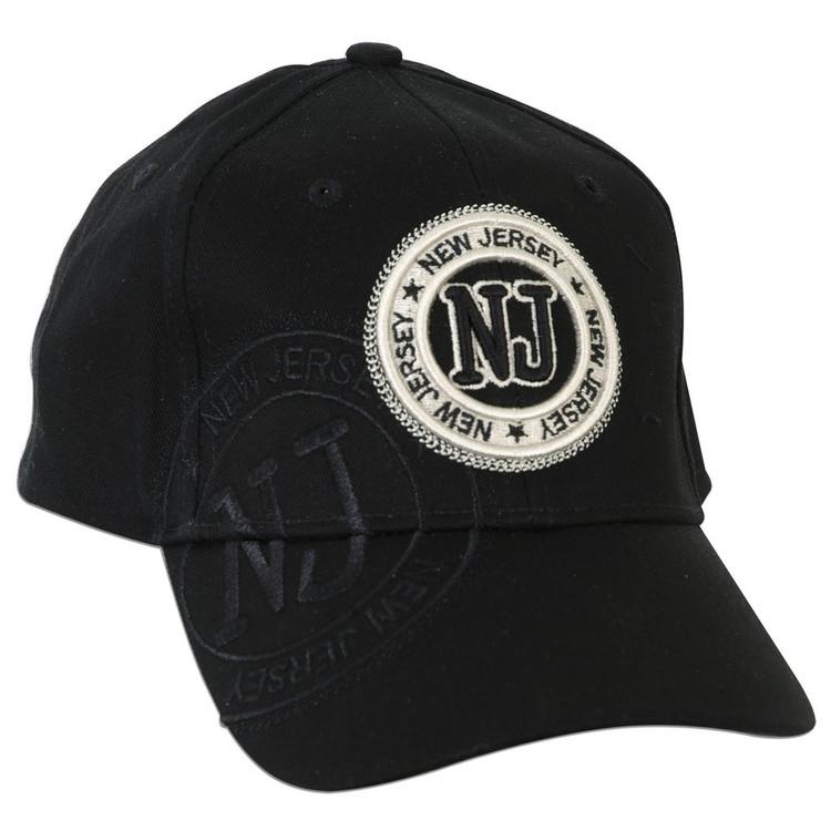 New Jersey NJ Stamp - BLACK