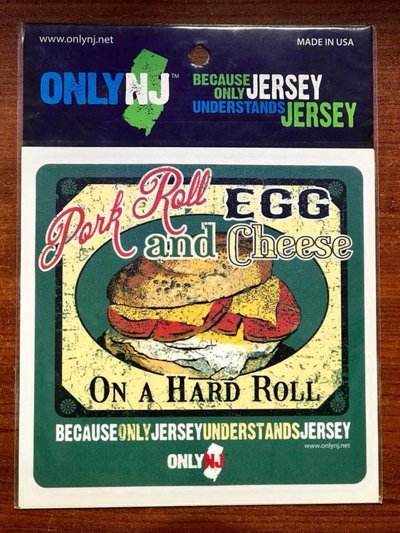 Pork Roll Egg & Cheese Auto Sticker