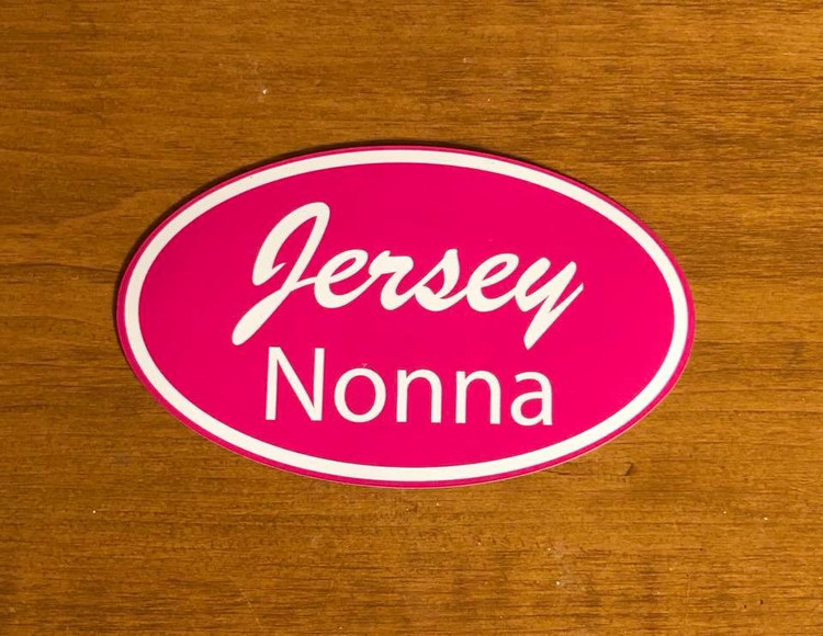 Jersey Nonna Auto Magnet