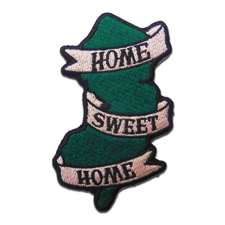 Never forget where you came from.  Each patch measures 2.25 inches by 3.75 inches, with an iron on backing.