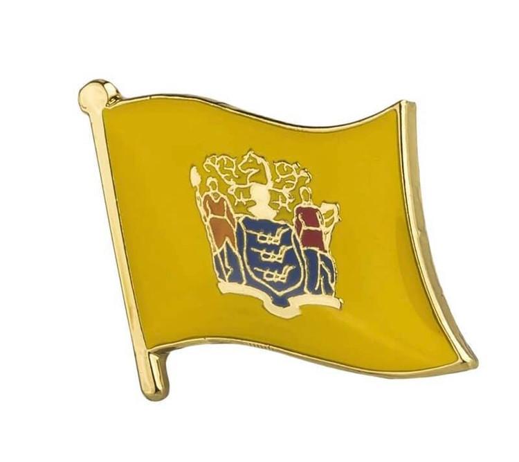 NJ State Pin