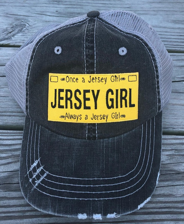 Jersey Girl License Plate Adjustable Hat