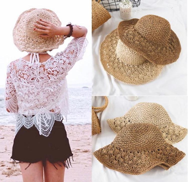 Women's Beach Straw Hat