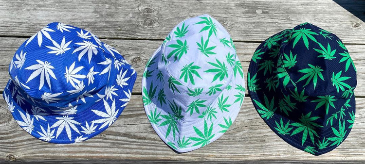 Cannabis Bucket Hats