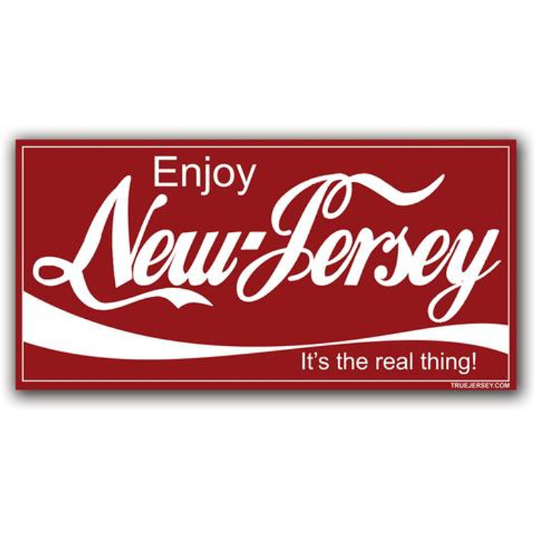 Enjoy NJ Sticker