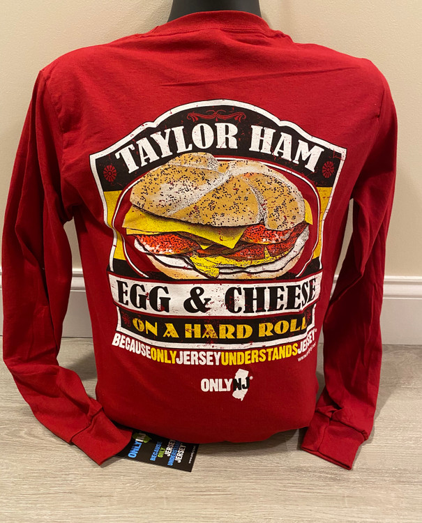 Taylor Ham Egg & Cheese Long Sleeve T-Shirt