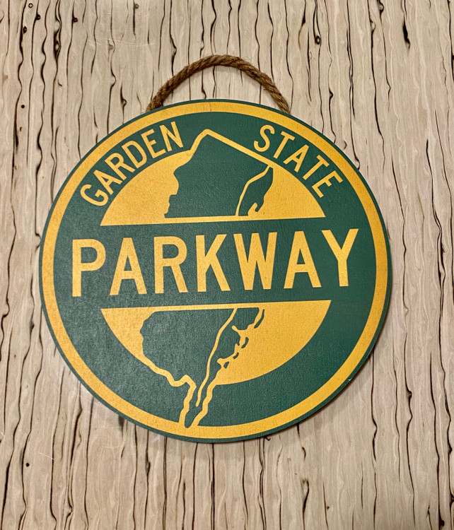 Handmade Parkway Wood Sign