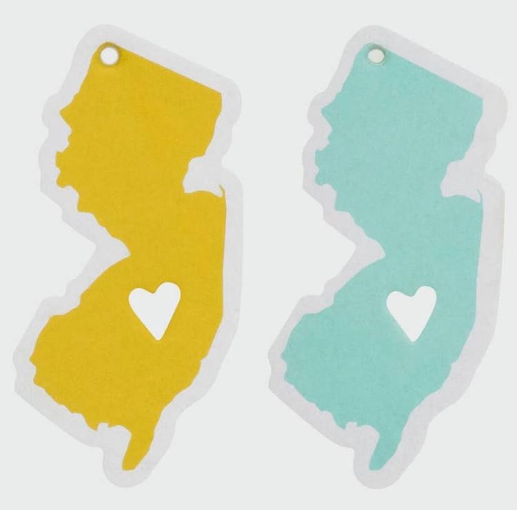 New Jersey Air Freshener (2 Pack) Ocean Scent