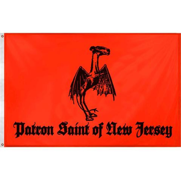 The unofficial flag of the Pine Barrens designed by locals for locals. This truly unique design is 5 x 3 feet, printed straight through to the reverse side and made from high quality outdoor polyester. It comes with two grommets pre-installed and is suitable for year round outdoor flying or as a compliment to any wall.