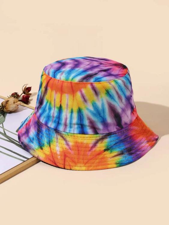 Tie Dye Reversible Bucket Hat