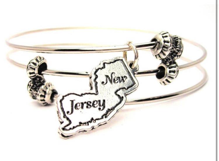 New Jersey Triple Style Bangle