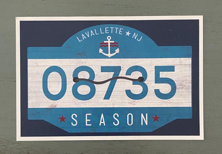 Lavallette 08735 -Post Card