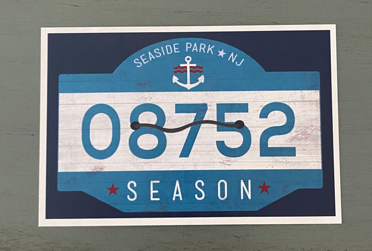 Seaside Park 08752- Post Card