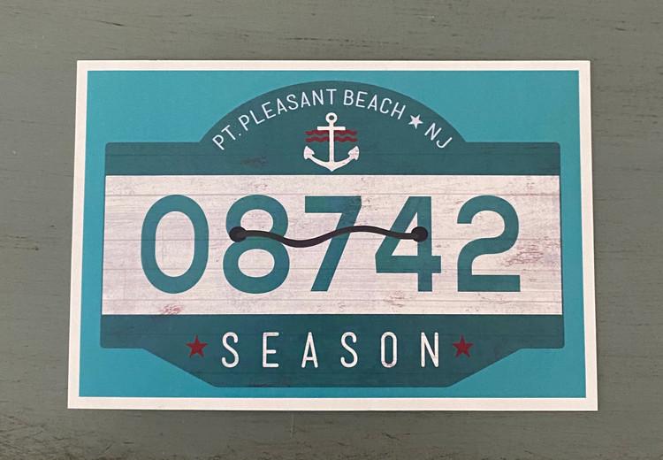 Point Pleasant Beach 08742 - Post Card