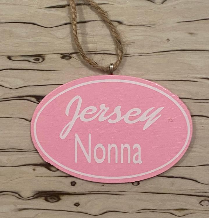 "Handmade Jersey Nonna Ornament 3"" x 4.5"""
