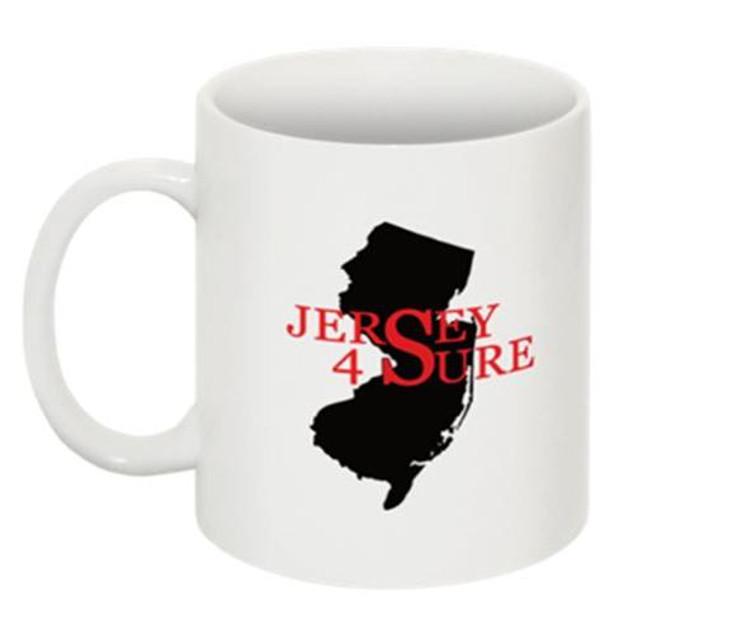 Jersey 4 Sure Mug Black